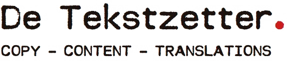 De Tekstzetter - copy - content - translations
